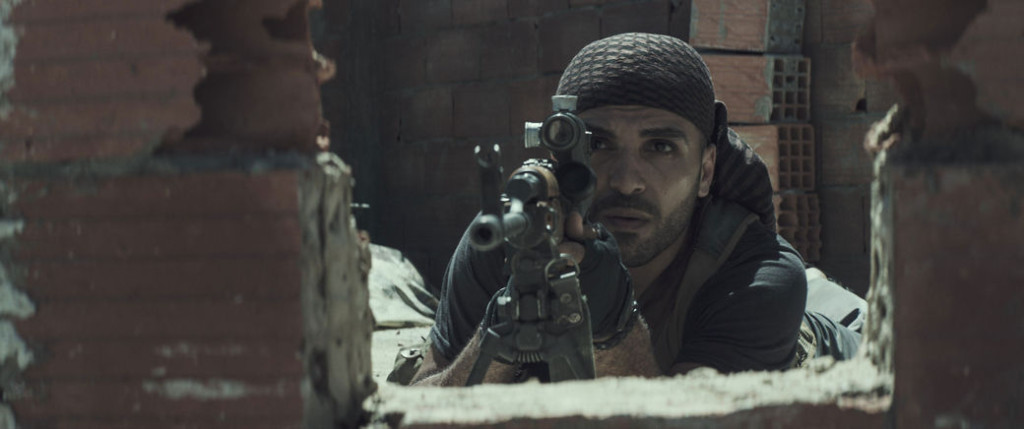 Is this an insurgent sniper or the latest controversial Urban Outfitters advertisement?