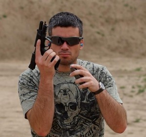 I created the Rick Taylor character in an effort to highlight the differences between the tactical fakers and the respectable, professional veterans and competition shooters and others who form the core of our industry.
