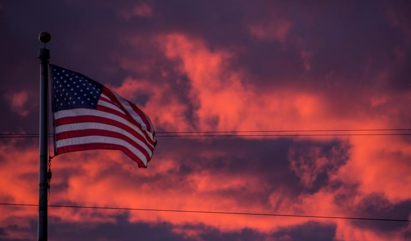 flagsunset