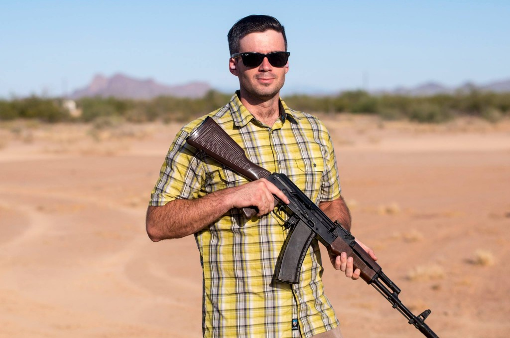 """I'm using a photo of me with an MPi-74-whatever in an article called """"Why I Own AR15s"""" just so someone will say """"That's not an AR15!!"""""""
